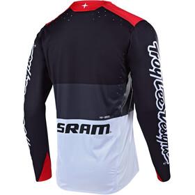 Troy Lee Designs Sprint Elite Fietsshirt lange mouwen Heren rood/zwart